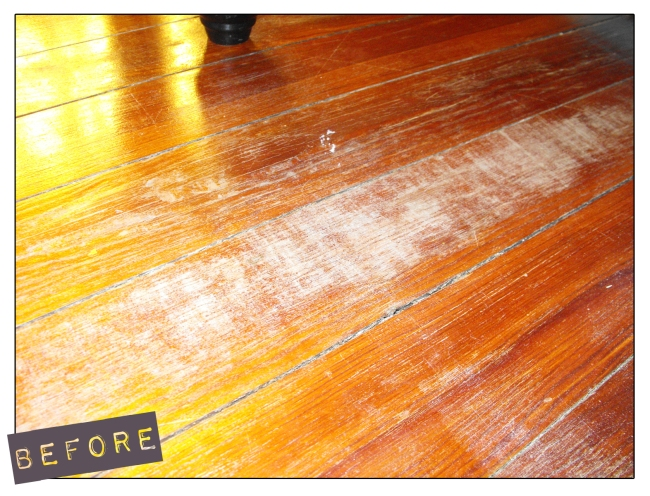 Image for Hardwood floors and babies